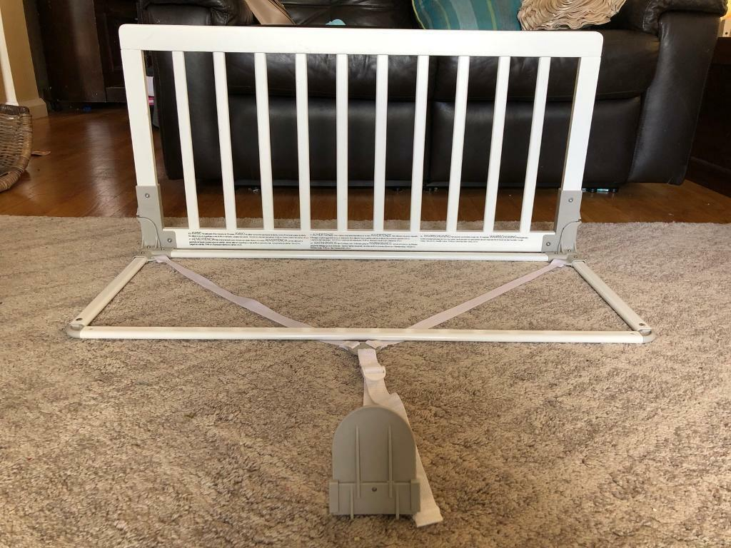 BabyDan Wooden Bed Guard Rail White