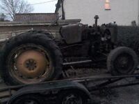 International b414 tractor breaking
