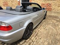 2003 03 BMW E46 M3 3.2 CONVERTIBLE 2dr 6 Speed+high spec+Price drop!!! Swap