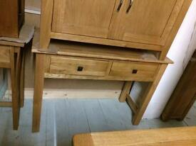 Solid oak hall table sale see pics