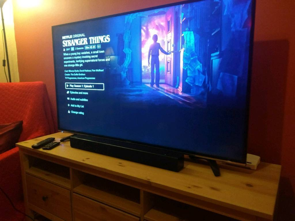 hisense 55 inch m3300 4k hdr ultra hd smart tv in radstock somerset gumtree. Black Bedroom Furniture Sets. Home Design Ideas