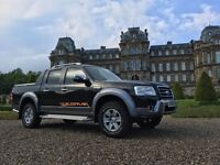 2009 Ford Ranger Wildtrak full service history serviced every 10000 miles new tyres discs and pads.