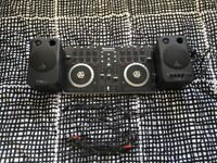 Numark Mixtrack Pro II including Behringer Speakers