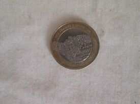 £2 - 2 pound charles dickins 2012 coin