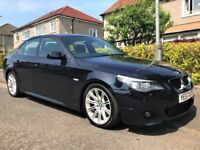 2007 '57 REG' BMW 520D M SPORT +++LOW MILEAGE OF ONLY 66,786 MILES WITH FULL SERVICE HISTORY+++