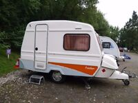 WANTED ANY FREEDOM CARAVAN jetstream, twin, microlite, prima etc