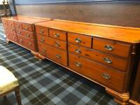 Pair of large Ducal Chateau chest of drawers * free furniture delivery*