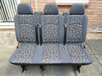 Mercedes Vito Viano W639 rear 3 seater bench seat plus more parts availablecan also fit and deliver.