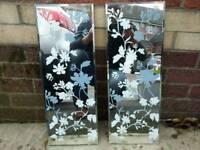 Flowered mirrors