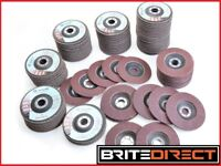 Flap discs 4.5' / 115mm for wood metal angle grinder grinding Best Price and Quality 8£ 10 Discs