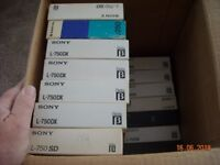 BETAMAX VIDEO TAPES
