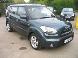 2010 Kia Soul2 1.6CRDi 5 DOOR DIESEL MPV ,JUST HAD A NEW CLUTCH FITTED !!!