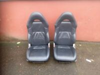 TOYOTA CELICA LEATHER FRONT SEATS