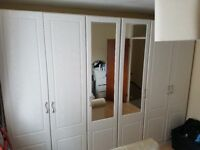 white wardrobes for sale in great condition