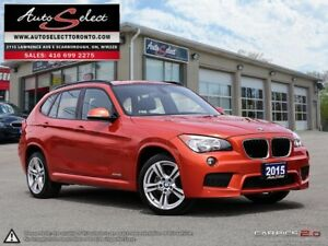 2015 BMW X1 xDrive28i AWD ONLY 80K! **M SPORT PKG** TECHNOLOG...