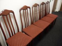 5 dinning chairs for sale