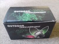 Outdoor Lawn Twin Laser Light projector decoration - NEW
