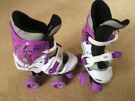 Roller skates by Osprey, size 10-12, adjustable