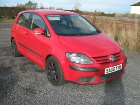 vw golf plus 1.9 tdi 2006 06 reg may px or swap van or estate very nice car with history