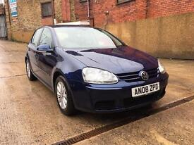 2008 VW GOLF 1.9 TDI MATCH 5DR MINT CONDITION
