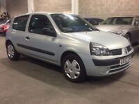RENAULT CLIO 1.2 DYNAMIQUE 2003 (52 REG)*£599*LOW MILES*LONG MOT*CHEAP TO RUN*PX WELCOME*DELIVERY