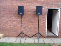 1 X Heavy Duty Aluminium Speaker Stands