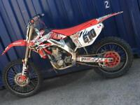 HONDA CRF 250 TWIN PIPE NOT YZ YZF KTM RM RMZ