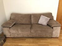 3 Seater Sofa, large armchair and footstool