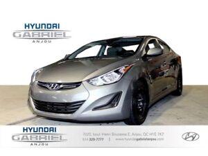 2014 Hyundai Elantra GL BLUETOOTH - DEMAREUR A DISTANCE