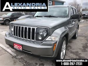 2012 Jeep Liberty Limited Jet/leather/1 owner/accident free