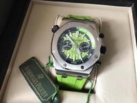 Swiss Audemars Piguet Divers Chronograph Watch Green