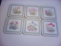 Boxed Set of 6 Cloverleaf Melamine Coasters