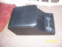 LAND ROVER SERIES & DEFENDER CENTRE FRONT SEAT CUBBY BOX & CUP HOLDERS