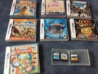 Ds games & wii games
