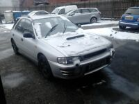SUBARU IMPREZA 2.0 TURBO WRX 4 WHEEL DRIVE RUNNING AROUND 280BHP CAR HAS BEEN REMAP AND HAS DECAT