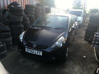 2002 HONDA JAZZ DSI SE (MANUAL PETROL)- FOR PARTS ONLY