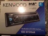 Brand new in box kenwood dab radio with Bluetooth