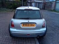 2003 MINI Hatch 1.6 One 3dr Manual @07445775115