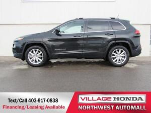 2015 Jeep Cherokee Limited 4WD V6 | No Accidents |