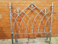 Designer headboard in metal..