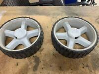 Go kart spare wheels