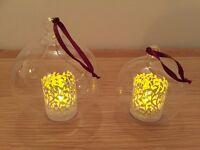 57 Glass Bauble Tea Light Holders - Ideal Wedding Decorations