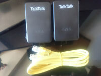Talktalk powerline extenders