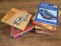 JOB LOT. Appox' 20 HAYNES and other car service manuals