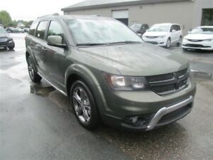 2017 Dodge Journey Crossroad AWD Leather/Nav/7 Seats