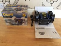 POWER CRAFT BENCH GRINDER NOT USED STILL BOXED