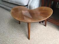 Vintage Mid Century kidney coffee table Amazing condition