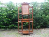 Solid Oak Antique Hall Stand