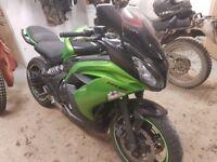 2013 Kawasaki EX 650 EDS Motorbike ER-6F