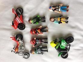 Playmobil motorbike dudes